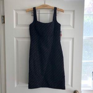 Antonio Melani NWT Metallic Thread Sheath Dress